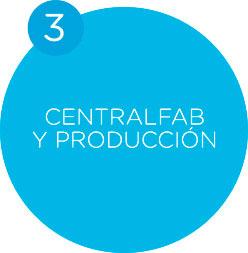 servicios centralfab y producción celeris
